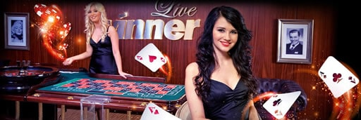 生中継でオンラインカジノを楽しめる